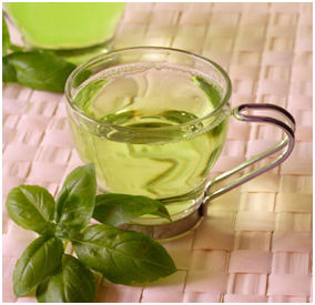 green tea_tummy flattening foods