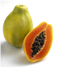 papaya for flat tummy