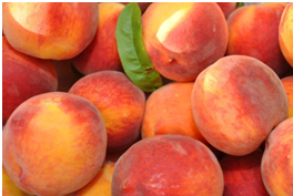 peaches_tummy flattening foods