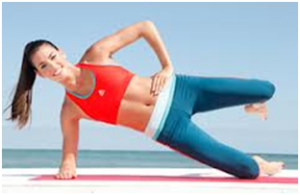 Best Tummy Toning Exercises Side line hip lift