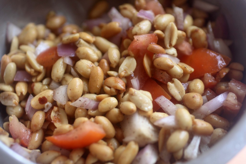 Healthy Peanut Salad  Protein Recipe