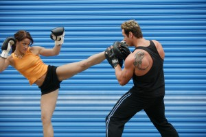 Top Exercises To Lose Weight kickboxing