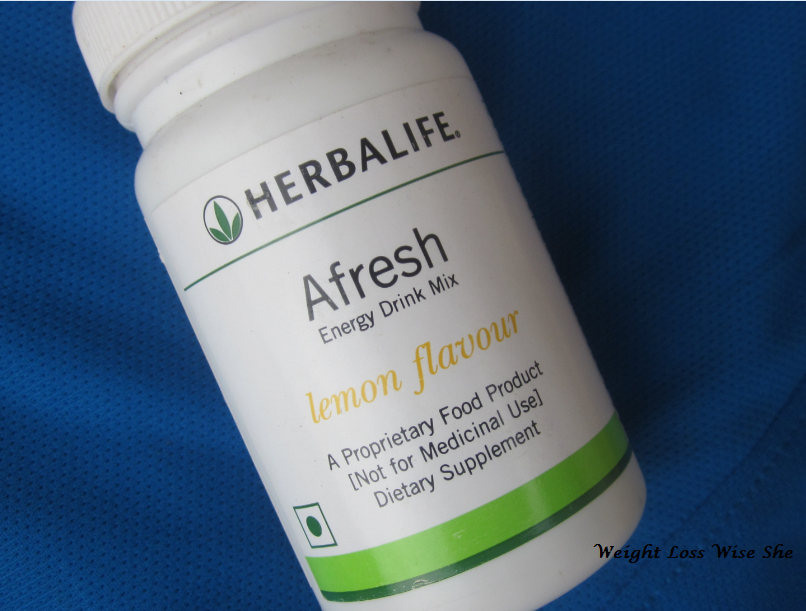 herbalife afresh energy drink mix
