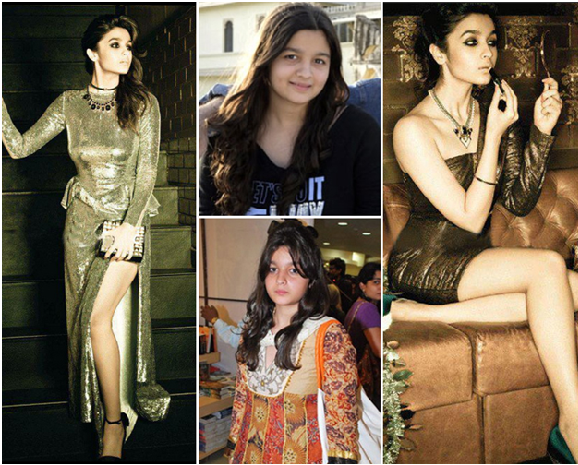 Alia Bhatt's before Weight Loss story