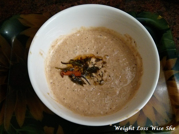 Peanut Chutney Recipe  Protein Recipe lose weight