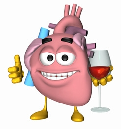 wine heart healthy