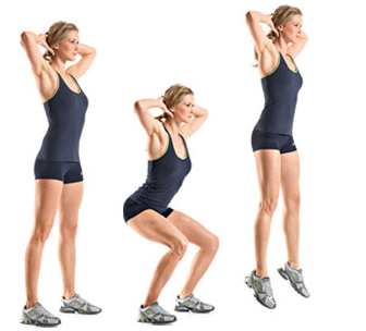 jumping squats indian weight loss