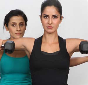 Katrina Kaif's Workout and Diet Plan gym