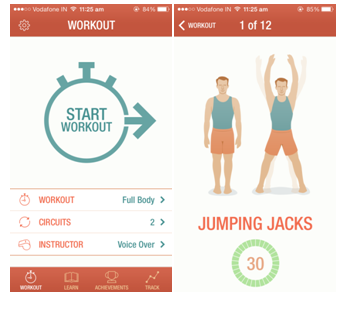 Top 6 Free Health and Fitness apps 7 min workout