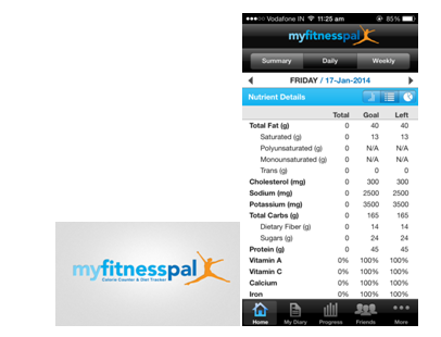 Top 6 Free Health and Fitness apps myfitnesspal