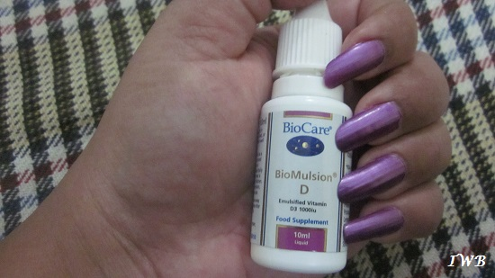 Vitamin D Supplement IndiaBioCare BioMulsion D Review (1)