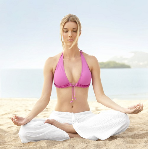 Yoga' o Clock Right Time For Yoga weight loss