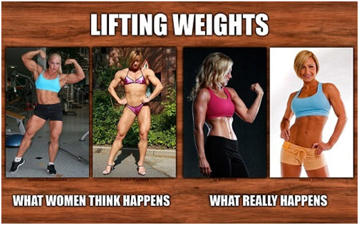 lift weights lose weight