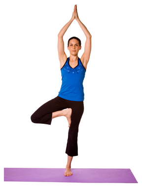 yoga tree pose weight loss