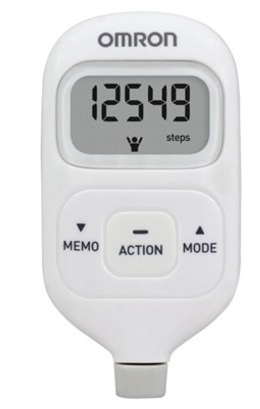 Pedometer Review : Omron HJ 203