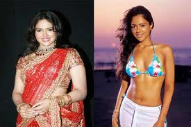 Sameera Reddy before and after Weight Loss