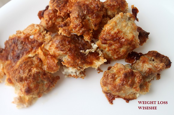 Chicken cheesy bites paleo