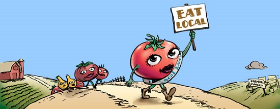 Eat Local and Be Healthy1
