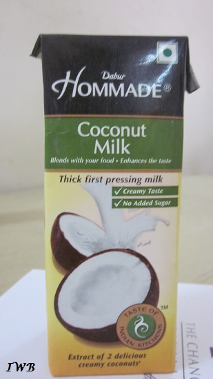 Coconut Milk India-Dabur Hommade Coconut Milk