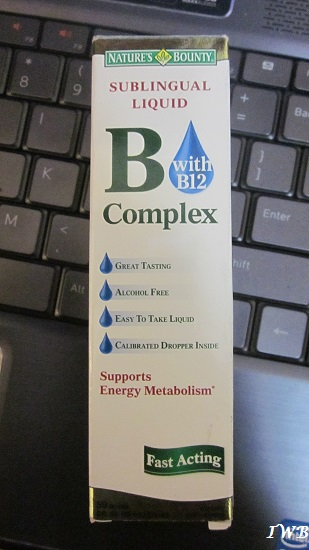 Natures Bounty Sublingual Liquid B12 Complex review (2)