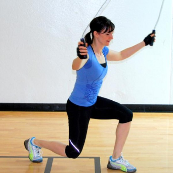 Jumping rope exercise