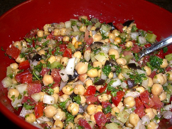 Bean-Salad-healthy italian food
