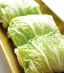 Cabbage rolls filled