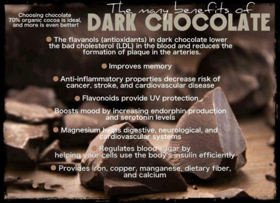 dark chocolate benefits