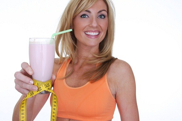 girl smoothie for weight loss