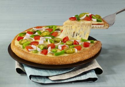 Dominos pizza eating healthy