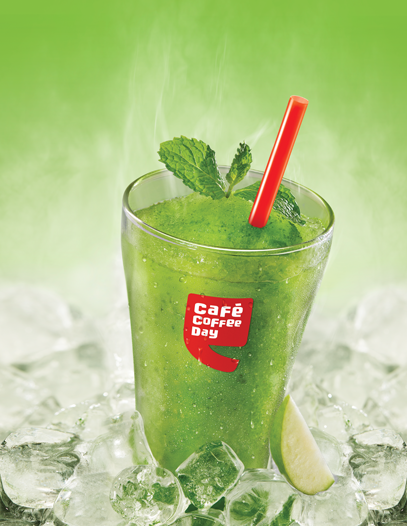 chilled drink- healthy eating at cafe coffe day