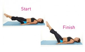 leg raise ab workout