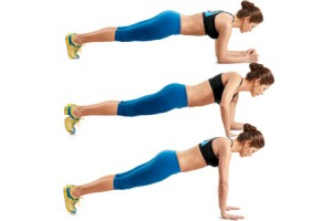 plank pushup arm workout