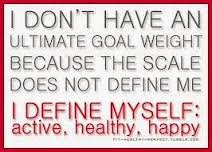 weighing scale define yourself