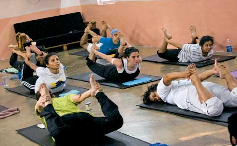 Bharat thakur yoga at hyderabad