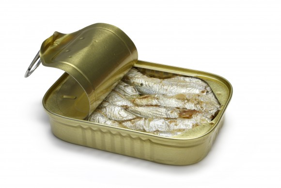 Sardines-canned