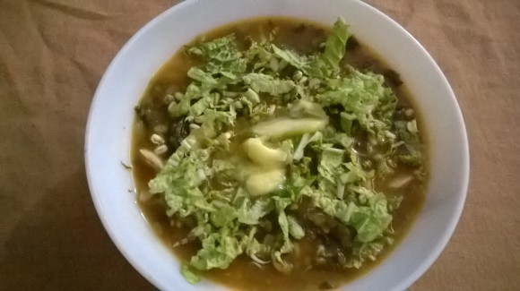 cabbage soup 1