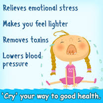 health benefits of tears cry