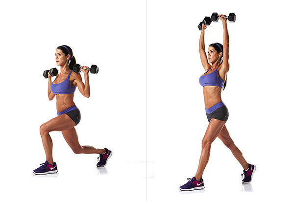 skinny people exercise weight lift