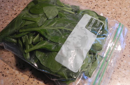 spinach-bag