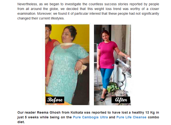 weight loss fraud
