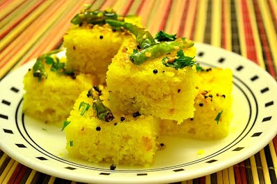 Dhokla protein breakfast