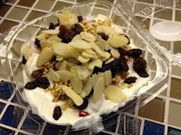 How to stay fit in the monsoons yogurt with dry fruits