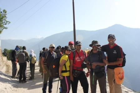 My Himalayas Trekking Experience And Weight Loss (3)