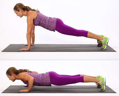 Push up for toned body