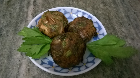 parsley spinach fritters 6