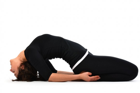 yoga for pms Fish-Pose Matsyasana
