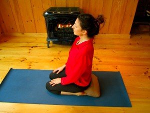 yoga for pms Thunderbolt or Vajrasana