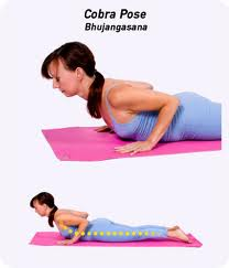 yoga for pms bhujangasan