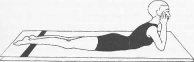 yoga for pms makarasana